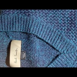 Paul Smith Sweater. Beautifully made. FIRM price.